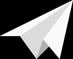 Geekgasm paper plane